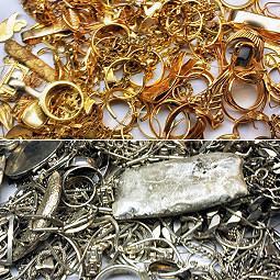 Złom złota, złom srebra