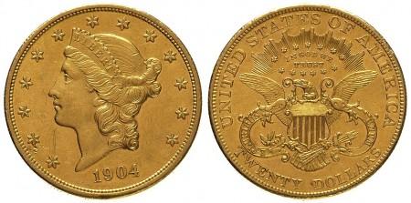20 dolar�w Liberty
