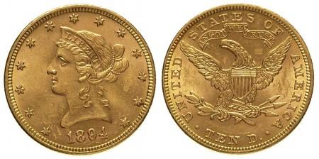 10 dolarów Liberty