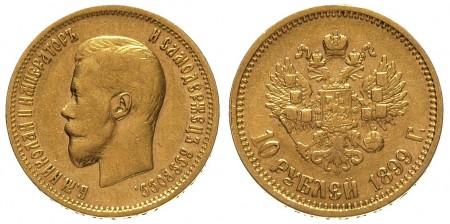 10 rubli Mikołaja II